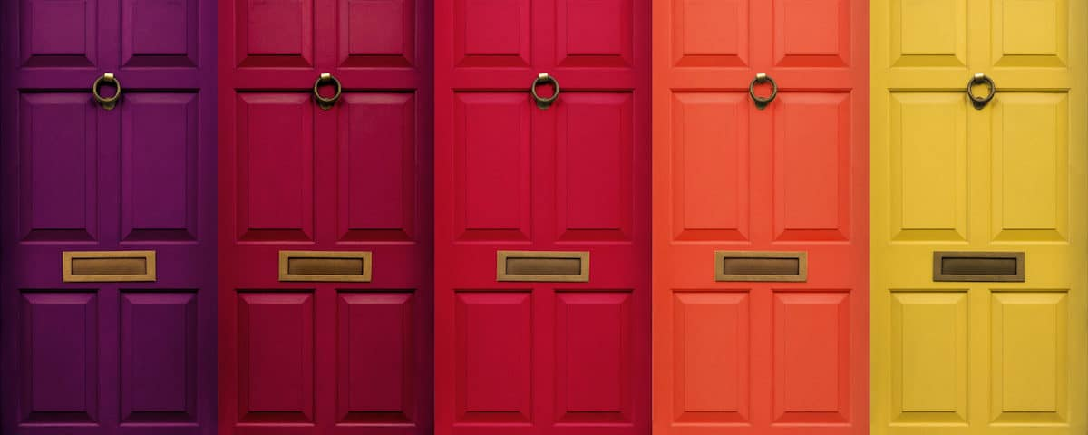 Selecting Your Front Door Color