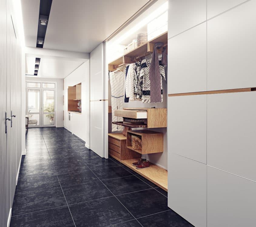 hallway closet organizers